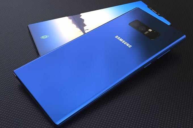 Samsung Galaxy Note  Ou Iphone X