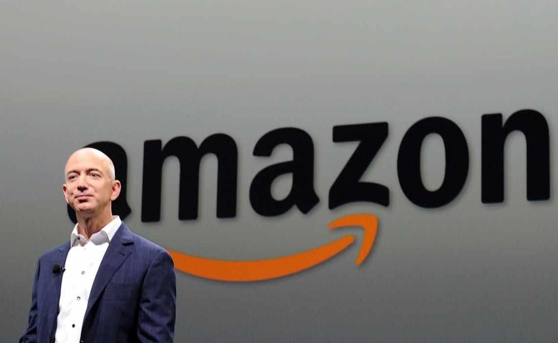 Jeff Bezos fondatore presidente e amministratore delegato