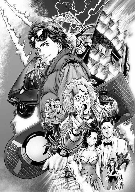 ritorno-al-futuro-manga