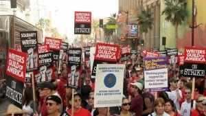 sciopero sceneggiatori
