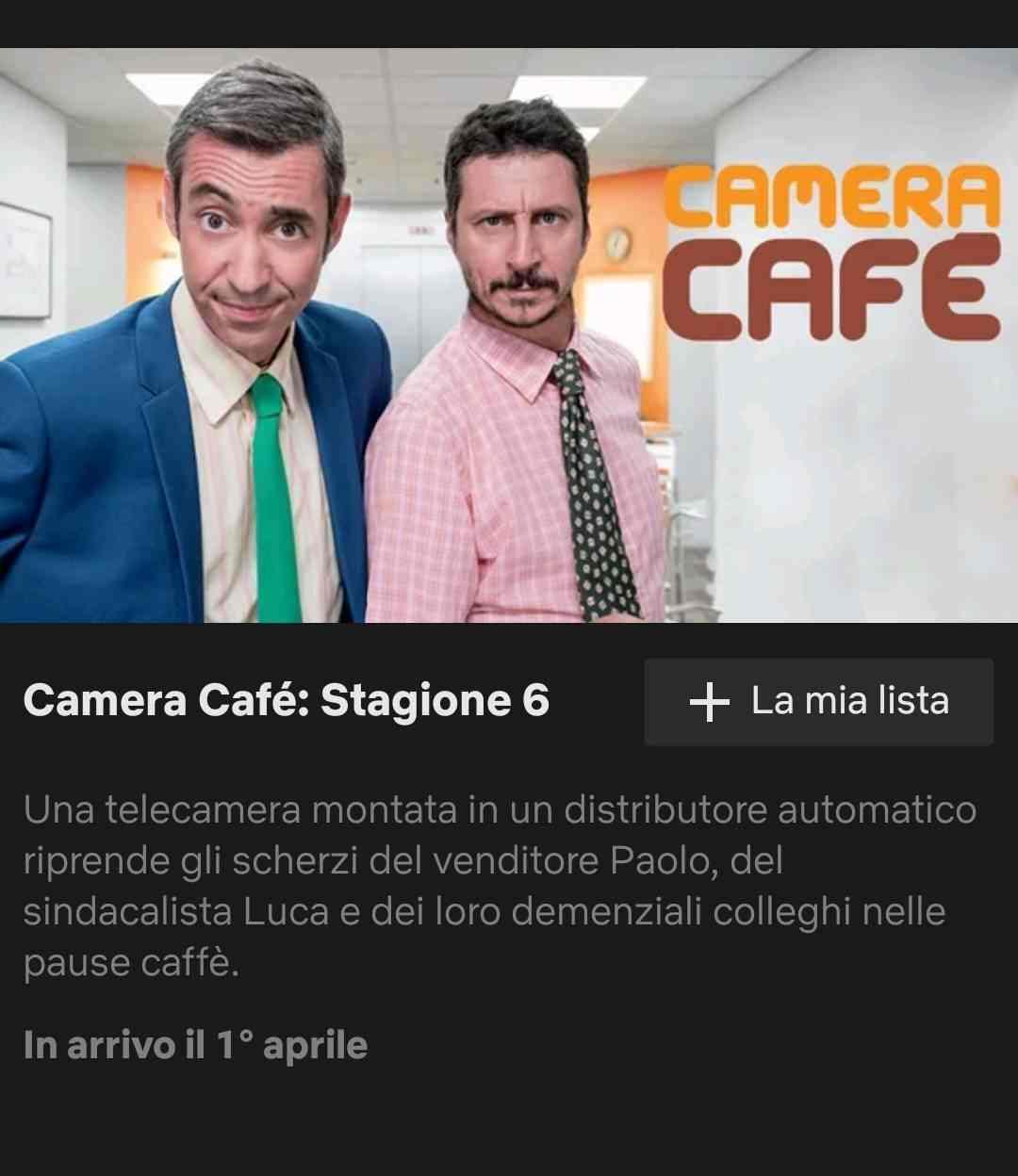 camera cafe italia 2017