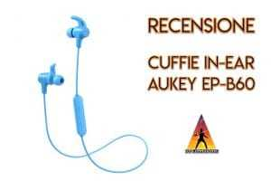 cuffie in-ear aukey
