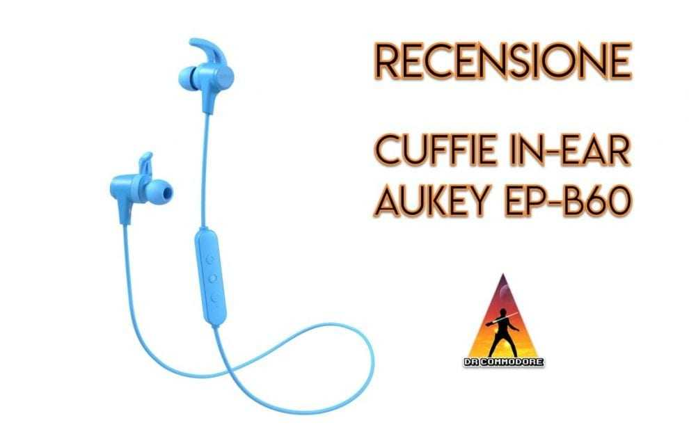 cuffie in-ear aukey