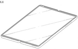 display front lg patent