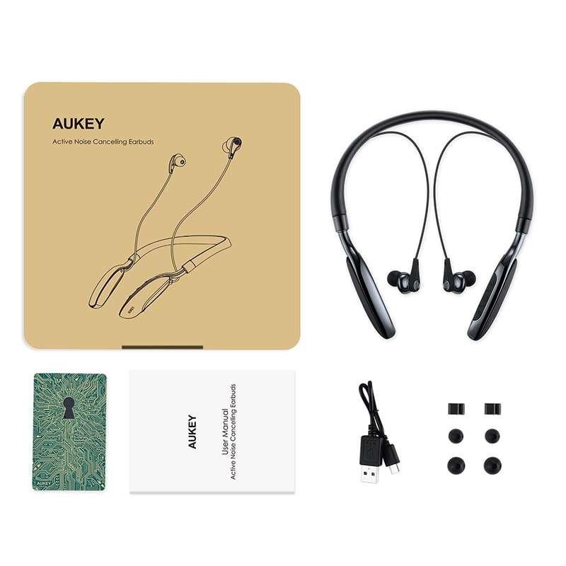Aukey EP-B48  auricolari con active noise cancelling - DrCommodore 1497d8f9476c