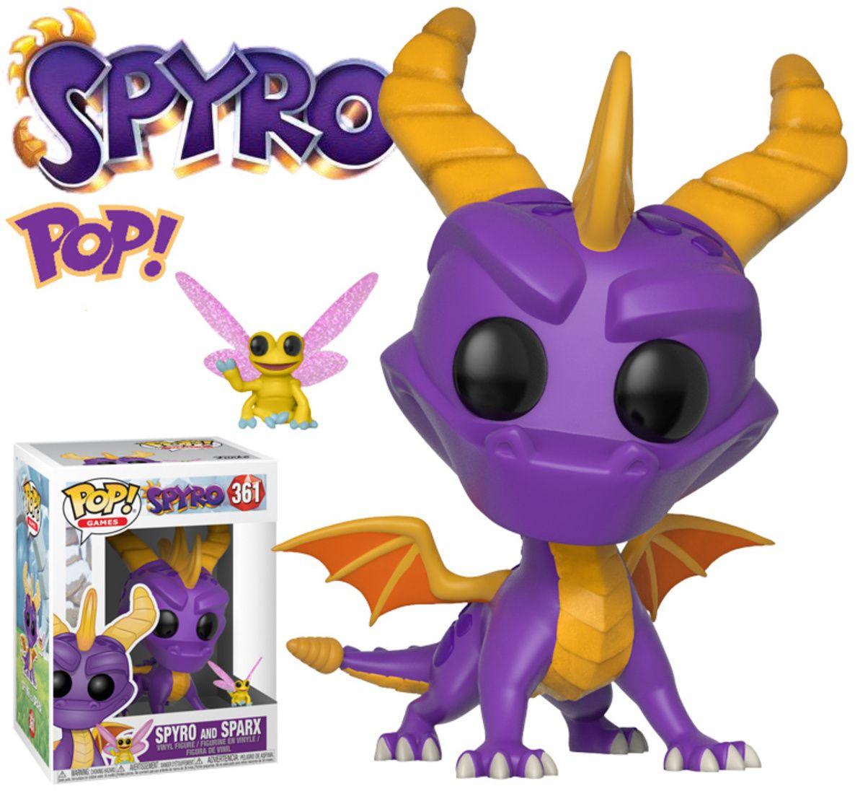 Funko POP Games Spyro Reignited Trilogy 361 Spyro And Sparx Videogiochi