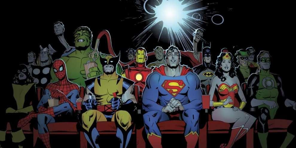 Risultati immagini per DC Marvel