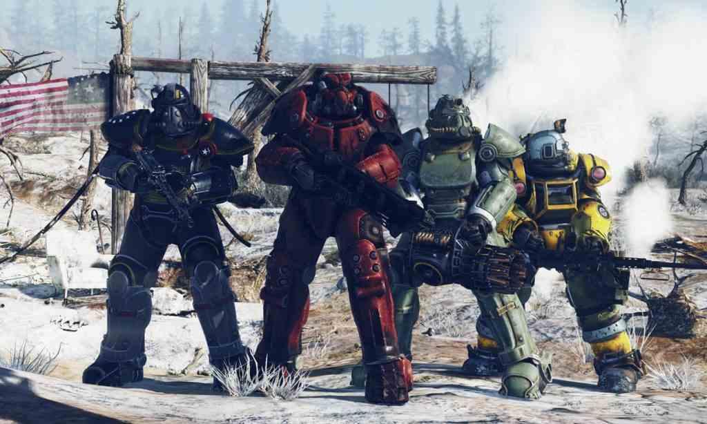 Fallout 76 Armatura