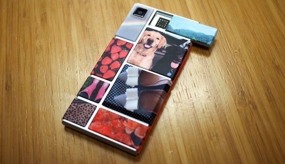 Uno smartphone del Project Ara