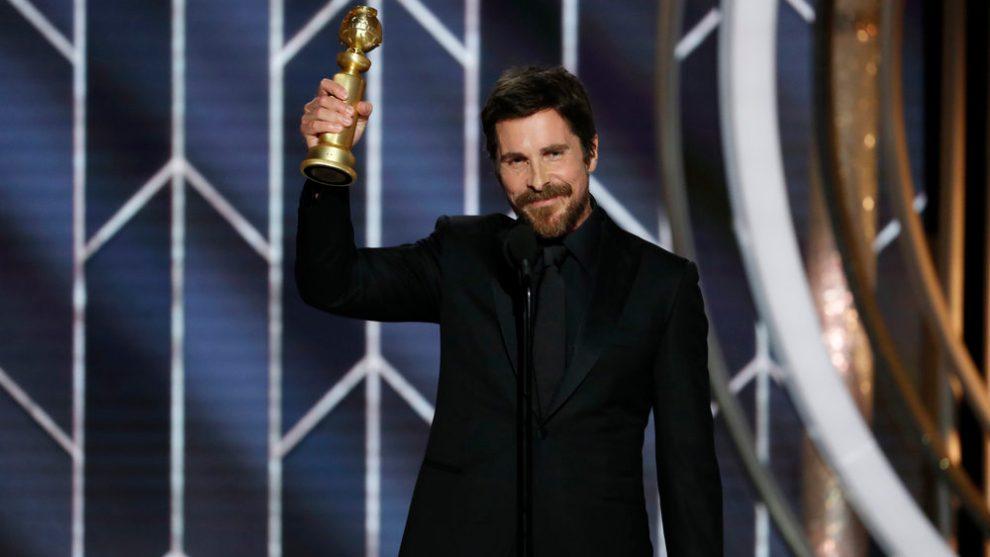 Christian Bale ringrazia Satana ai Golden Globes