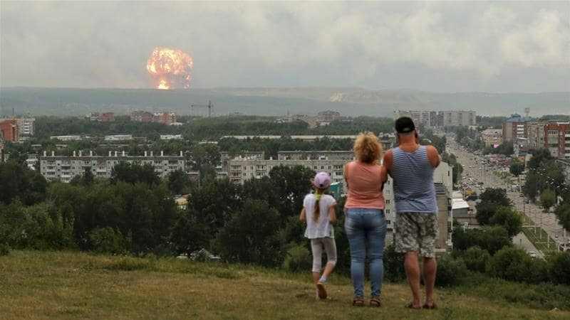 Incidente nucleare 2019 Russia