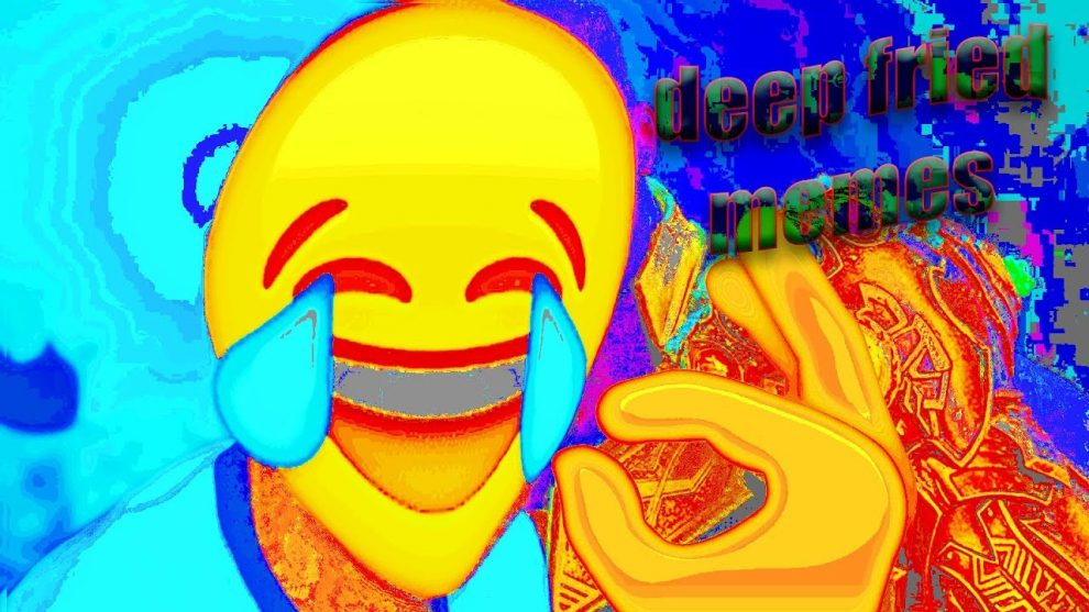 La storia dei Deep Fried Memes o meme fritti - DrCommodore