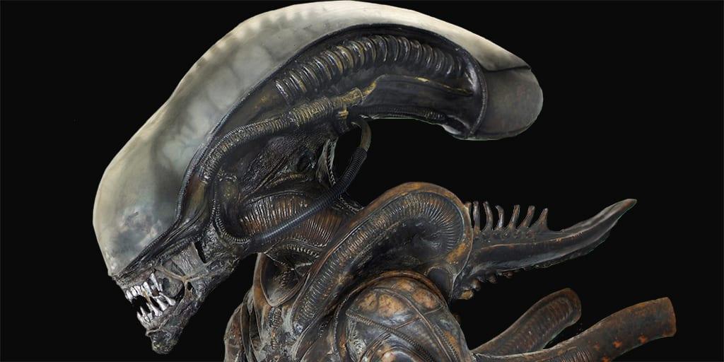 Alien testa