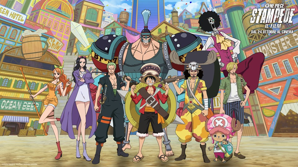 One Piece: Stampede - Il Film in un nuovo trailer, svelati i doppiatori