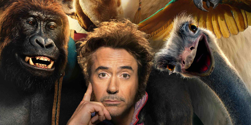 Dolittle - Ecco il trailer del film con Robert Downey Jr