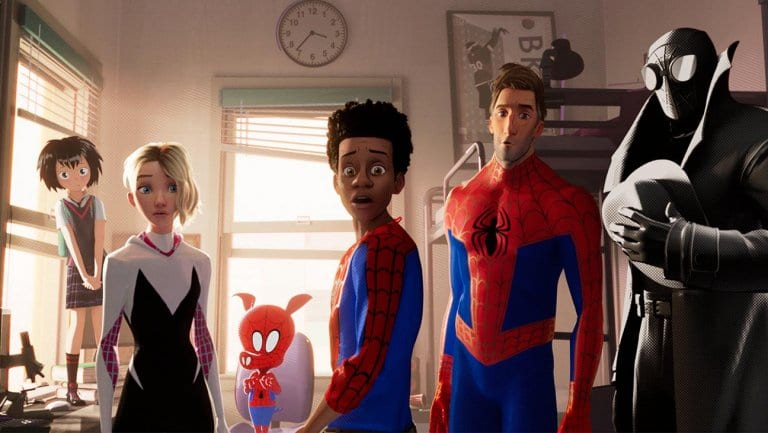 Sony Pictures Spider-Man Into The Spider-Verse