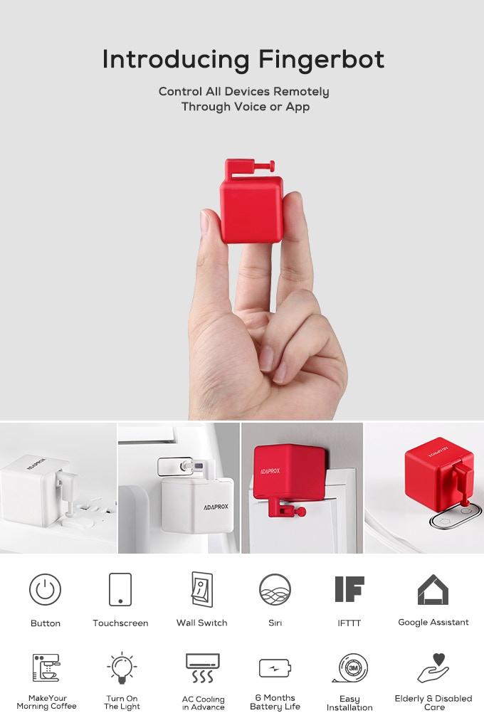 Fingerbot Kickstarter