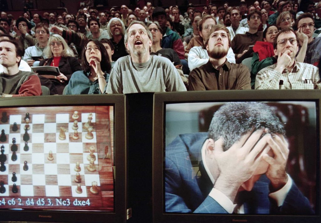 Kasparov IBM Deep Blue AI Scacchi
