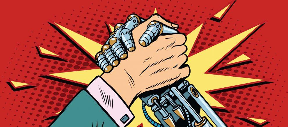 AI Uomo Intelligenza Artificiale