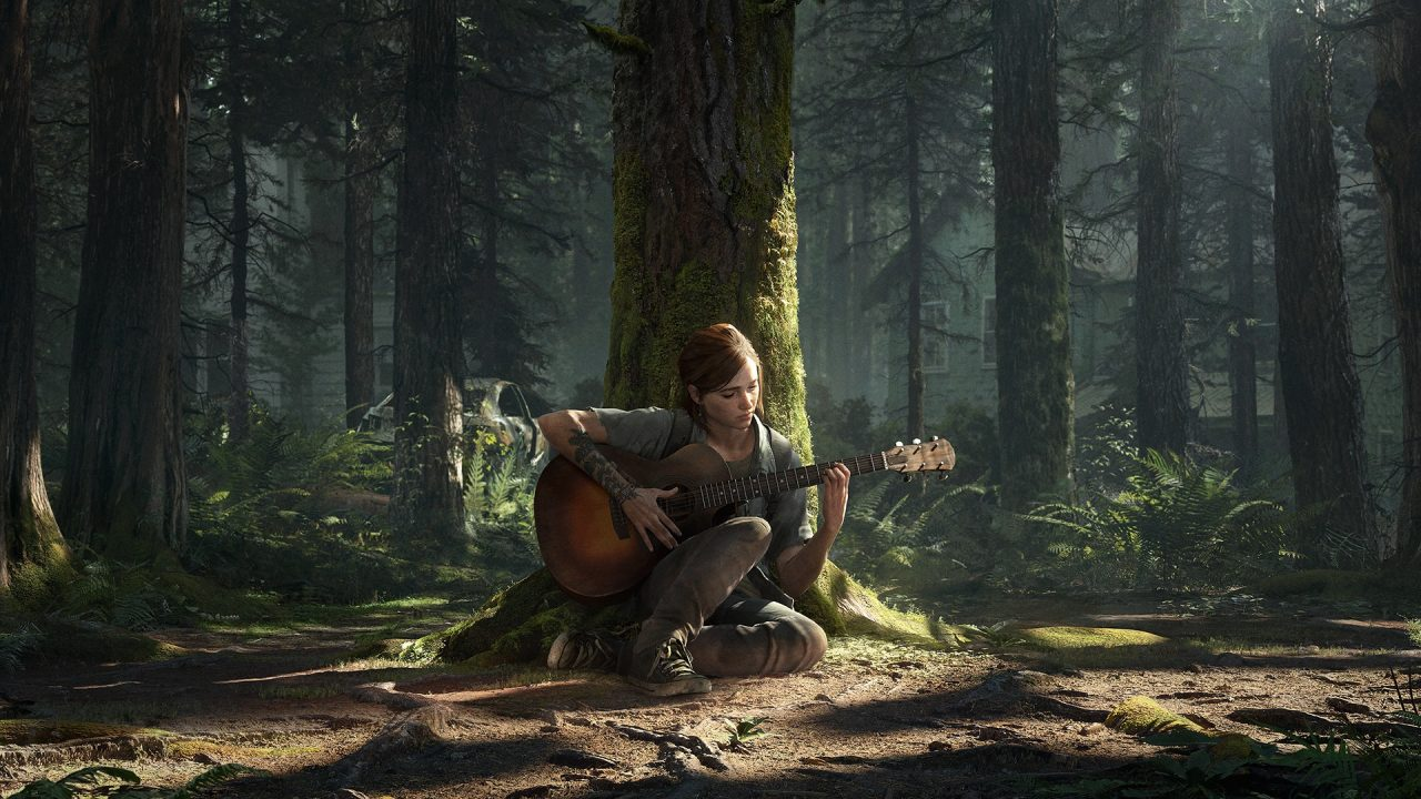The last of us ellie chitarra