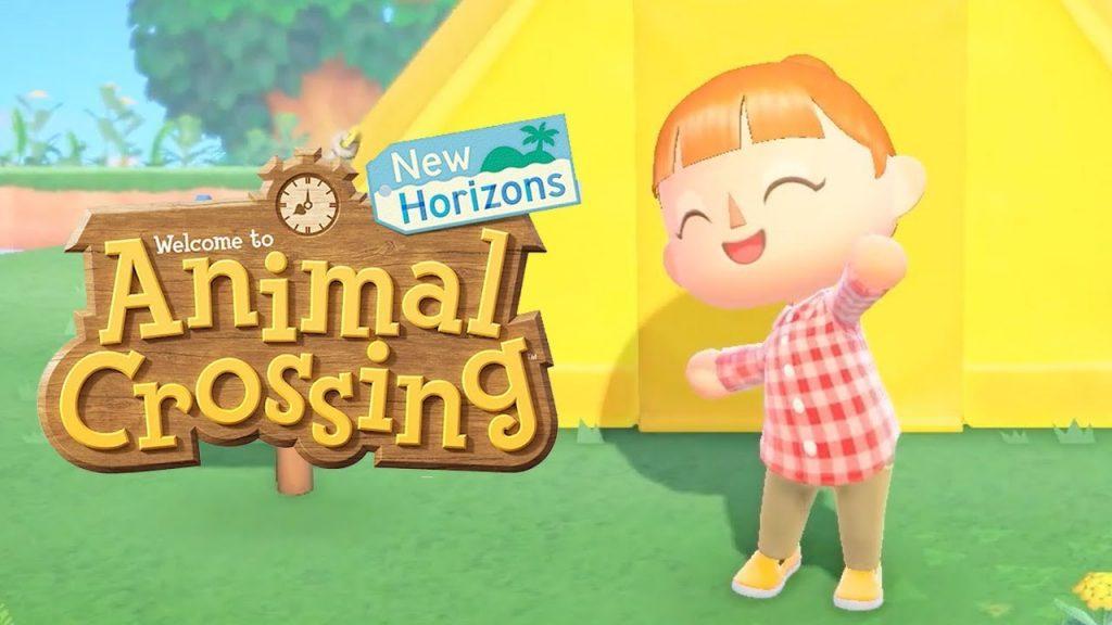 Animal Crossing, logo e screenshot