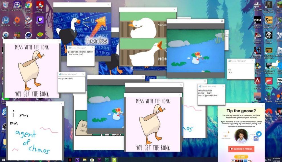 Desktop Goose