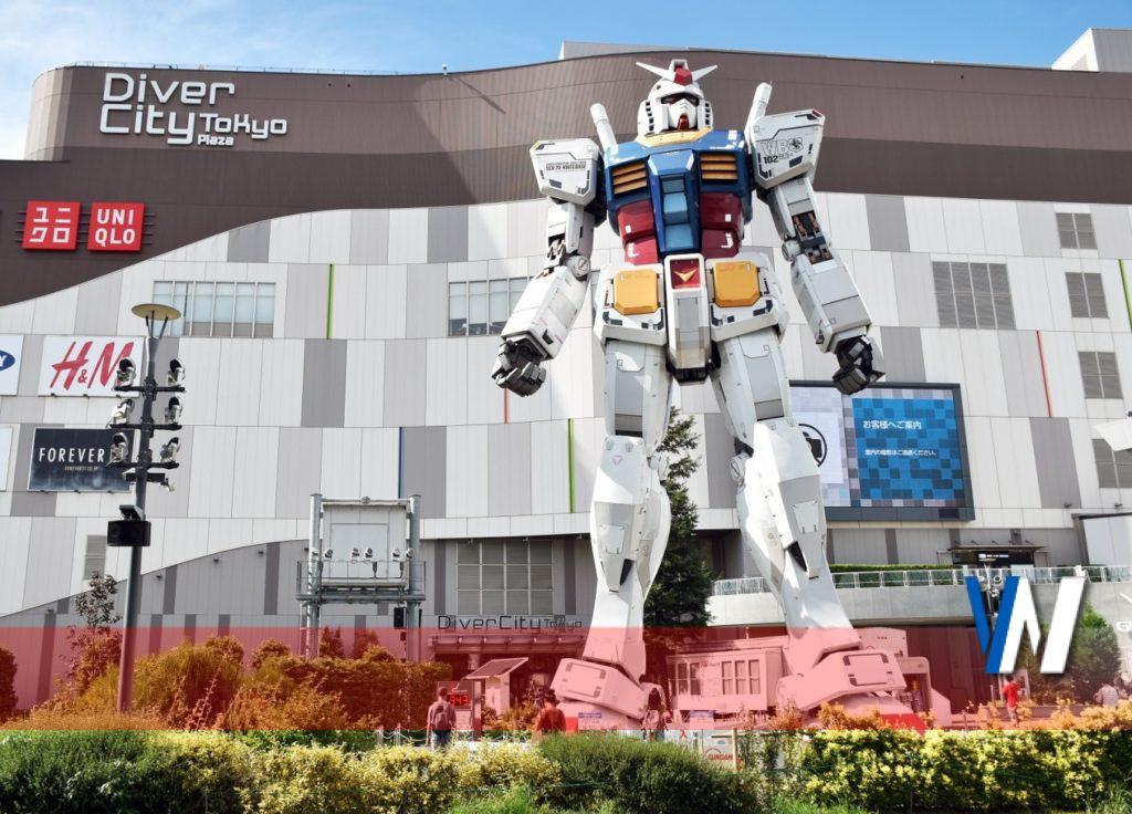 gundam2 1024x736 2 - L'iconico Robot Gundam accompagnerà gli atleti olimpici durante la sfilata di apertura Tokyo 2020