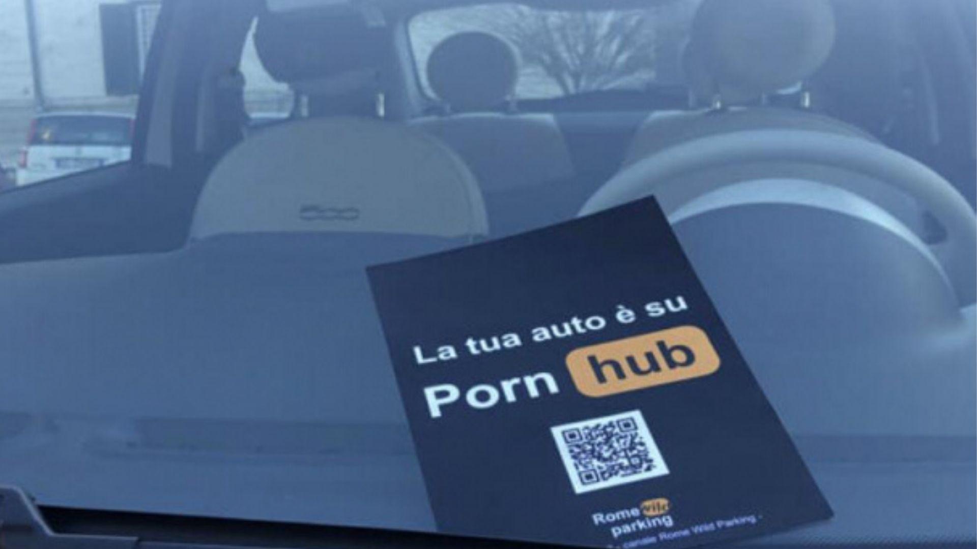 Auto Pornhub Roma Parcheggio