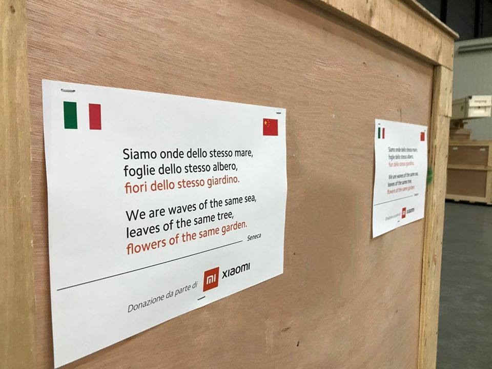 Xiaomi Coronavirus Italia