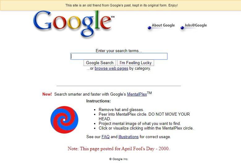 Google Mentalplex