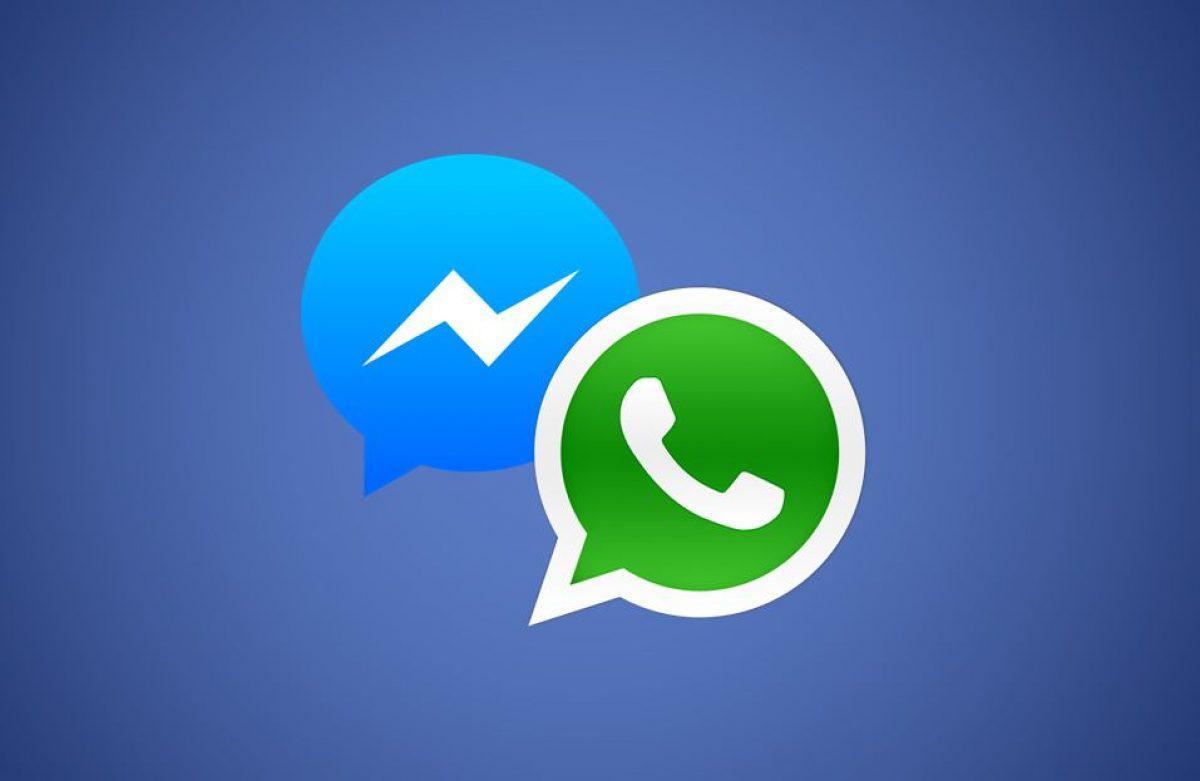 Loghi Whatsapp e Messenger