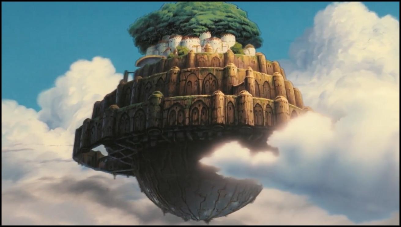 Laputa- Castello nel cielo