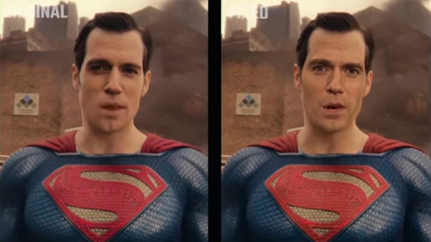 Henry Cavill Justice League