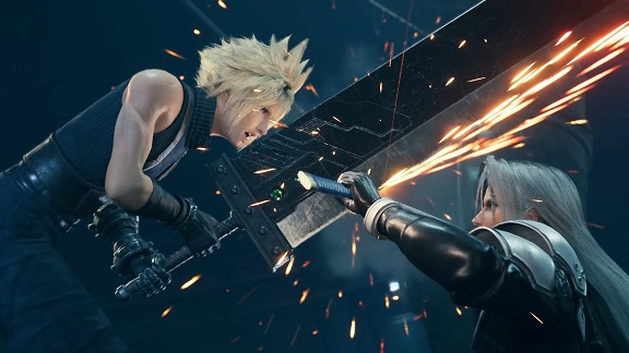 Final fantasy 7 remake cloud e sphiroth