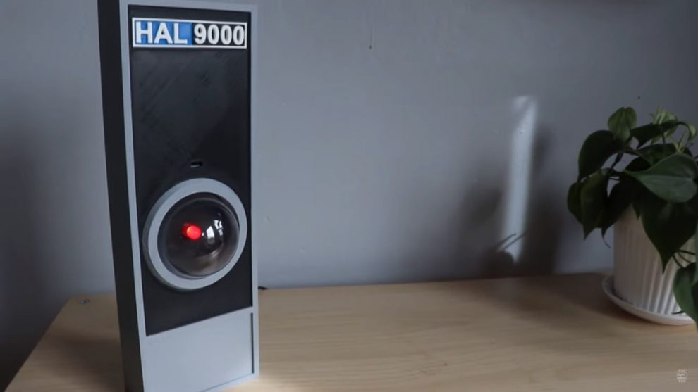 HAL 9000 raspberry google assistant