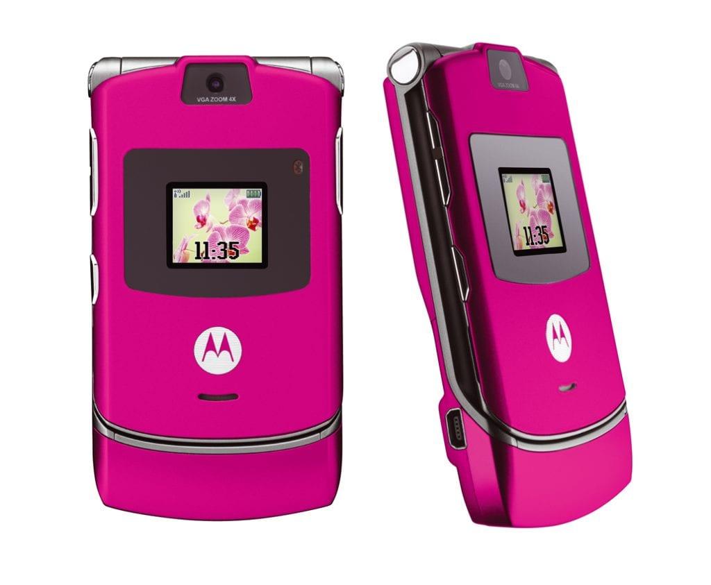 Motorola RAZR V3 rosa