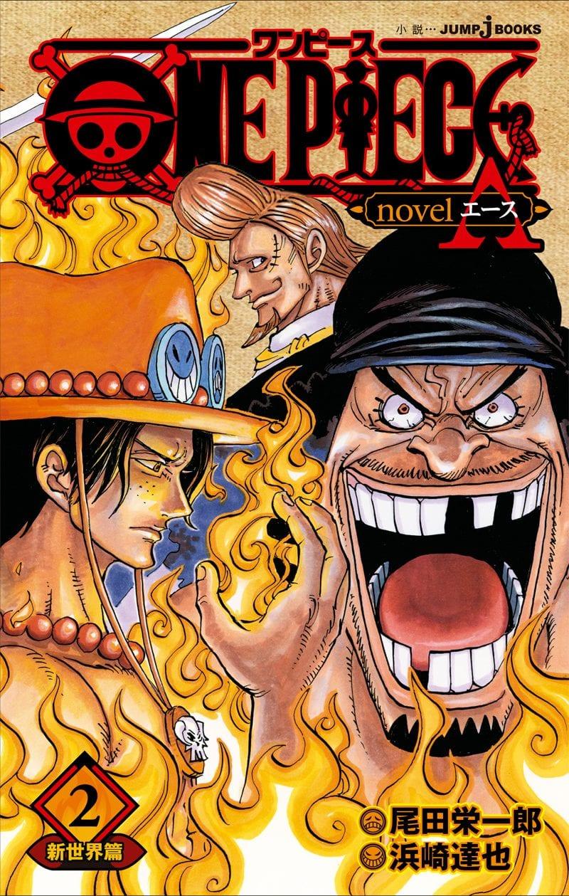 One Piece, Light Novel su Ace