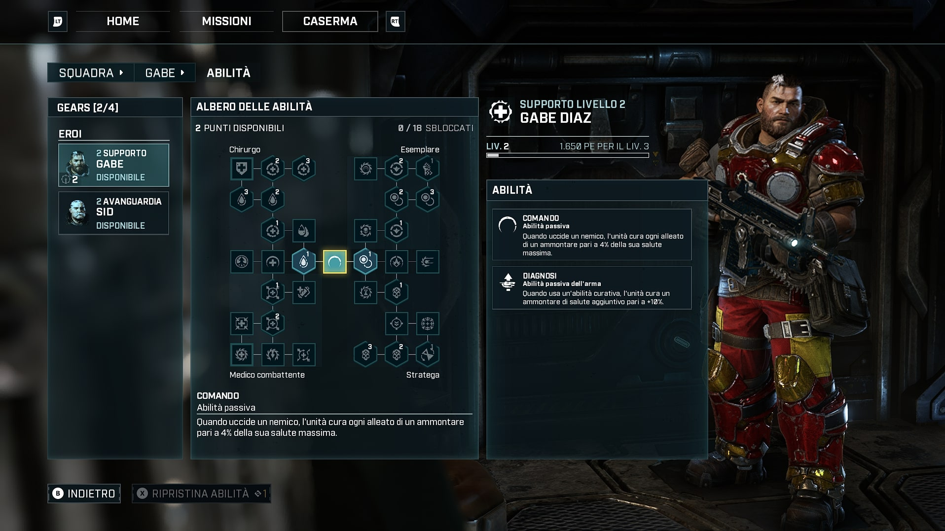 gabe in gears tactics