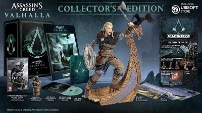 Assassin's Creed: Valhalla Collector's edition
