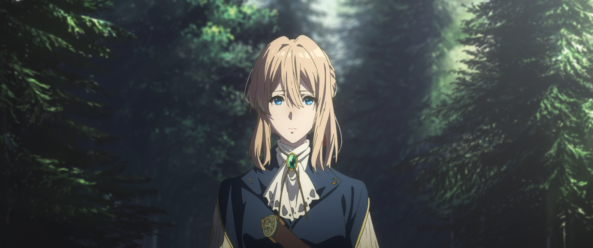 Violet Evergarden Eternity and the Auto Memories Doll - DrCommodore