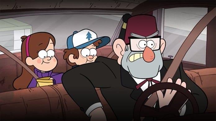 Gravity Falls simbolo cappello censurato