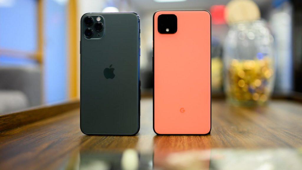 Iphone 11 Pro e Pixel 4 xl