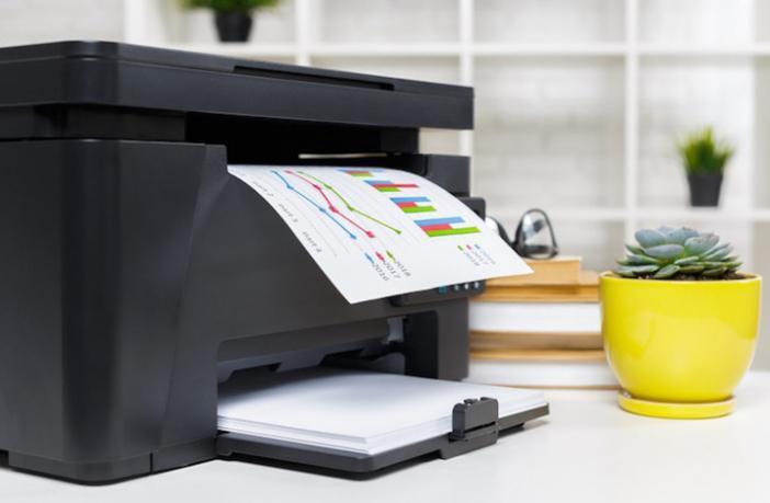 Come stampa una stampante laser