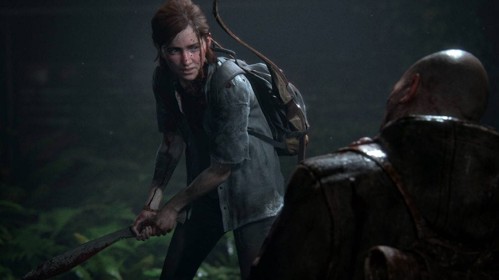 Ellie in The Last of Us Parte 2