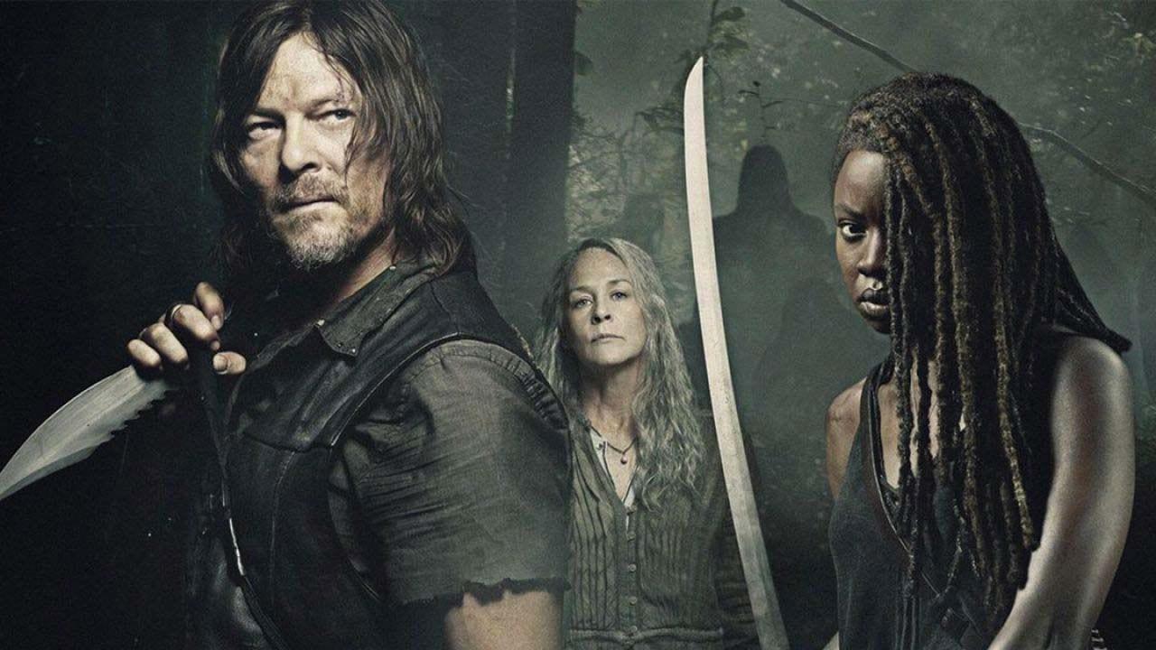Michonne, Daryle e Carol in the walking dead 10