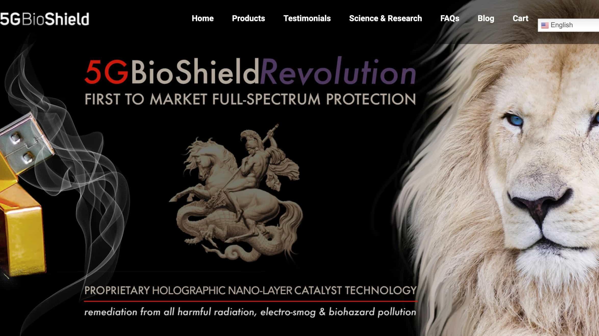 5G BioShield USB Drive