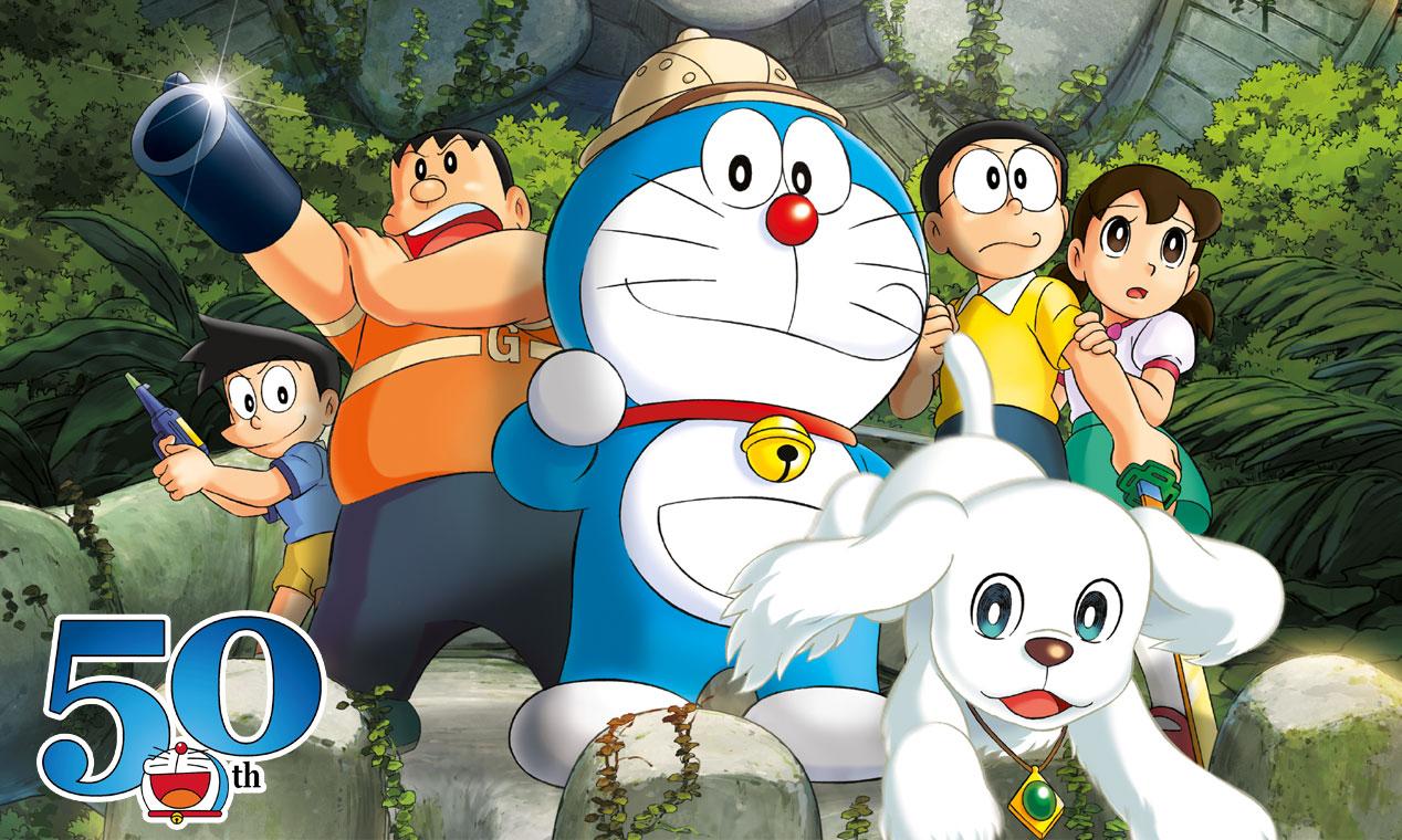 Doraemon - il film - nobita - LE AVVENTURE DI NOBITA E DEI CINQUE ESPLORATORI - doraemon il film