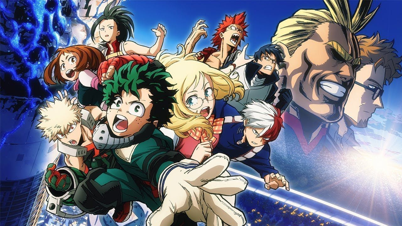my hero academia - my - hero - academia - my hero academia il film - my hero academia the movie - two hereos
