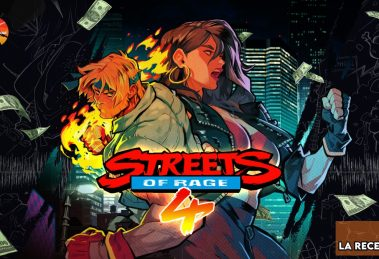 streets of rage 4 poster