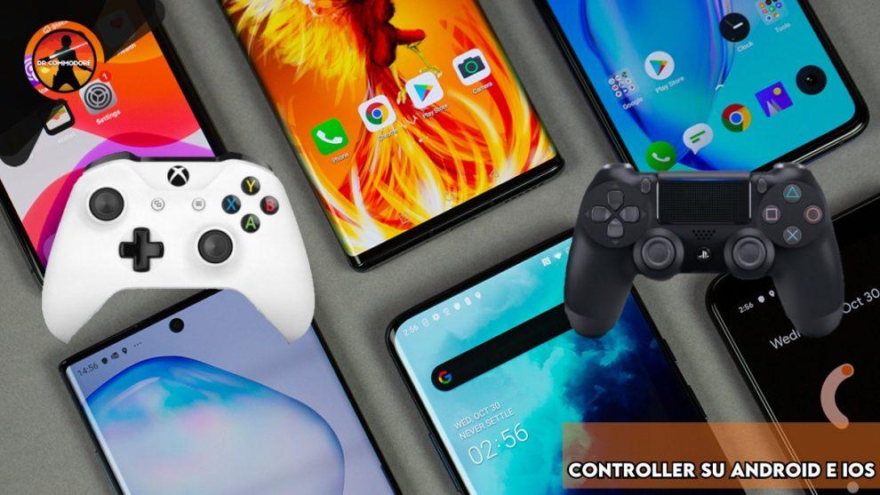 collegare il controller PS4 e Xbox One su smartphone